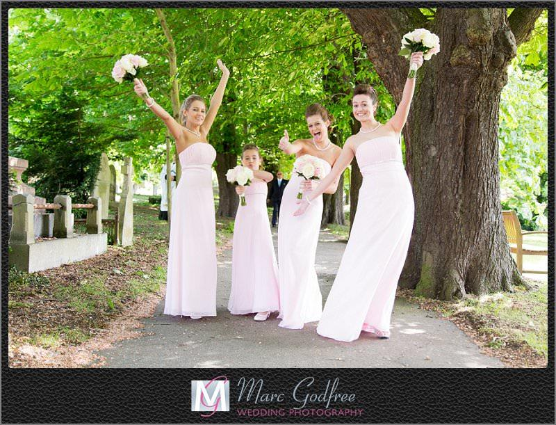 Bridesmaides-ready-for-a-Brandshatch-Thistle-Hotel-Wedding