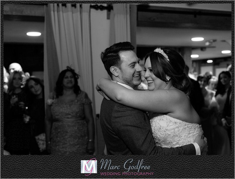 Bride-and-Grooms-First-Dance-at-Gaynes-Park-2