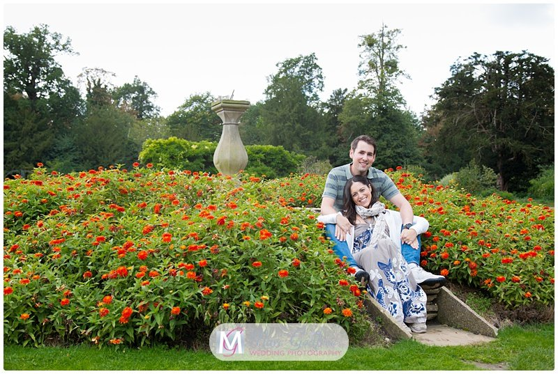 Hylands House Engagement Session with Maria & Michael-8
