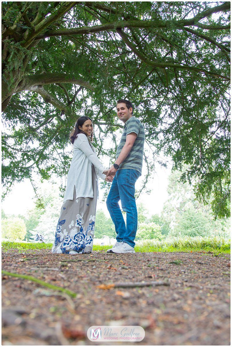 Hylands House Engagement Session with Maria & Michael-9