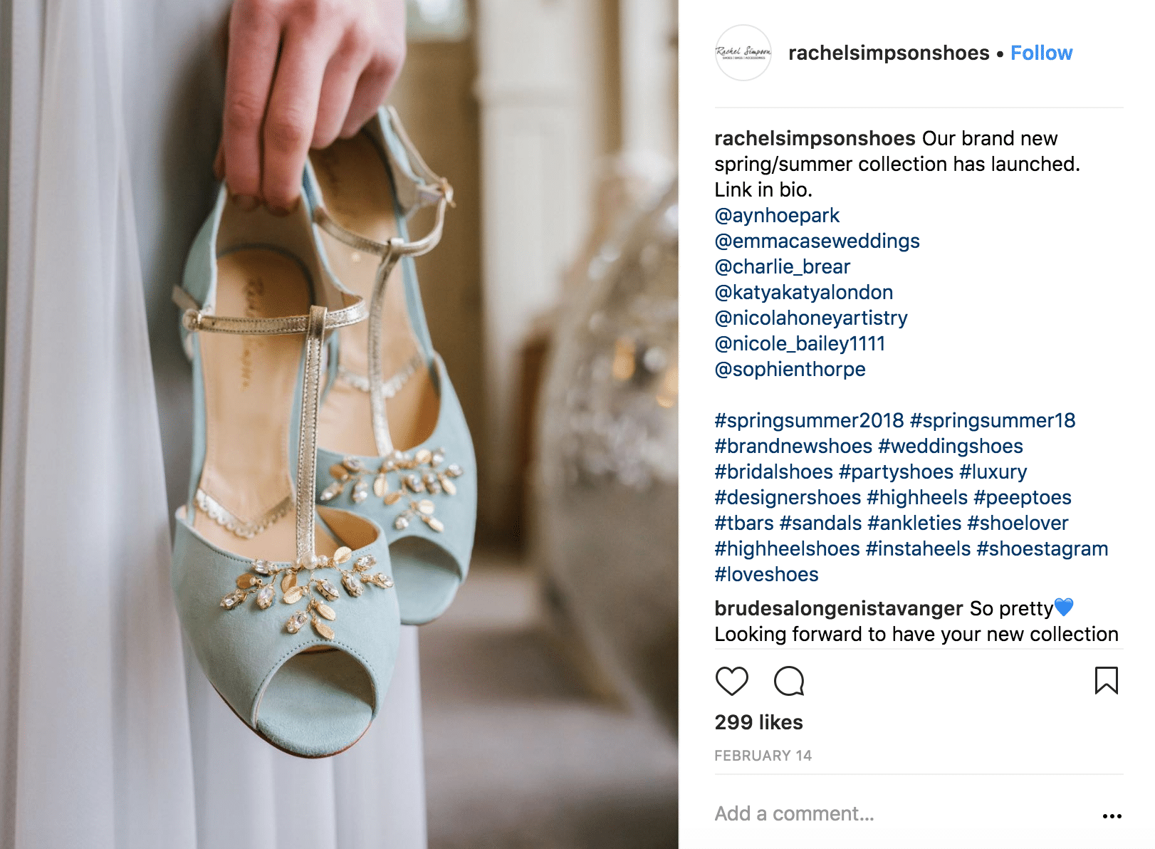 Instagram accounts to follow-rachelsimpsonshoes