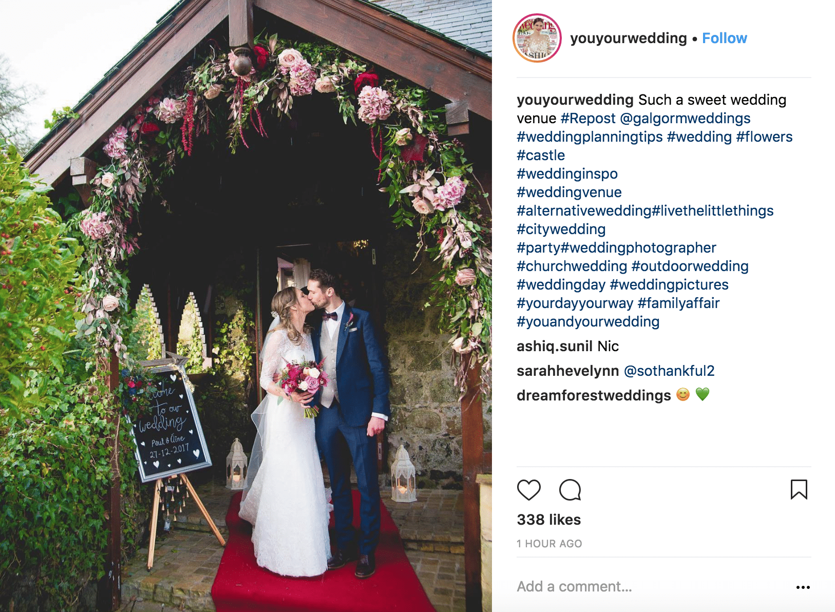 Instagram accounts to follow-youyourwedding