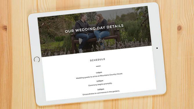 Wedding Planning Sharing App