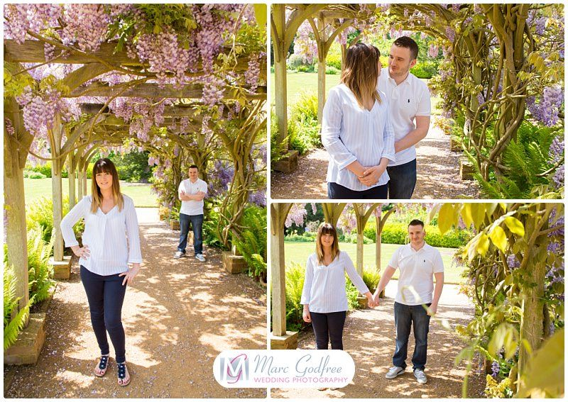 Amy & Sean's Chelmsford Hylands Park Engagement Session-1