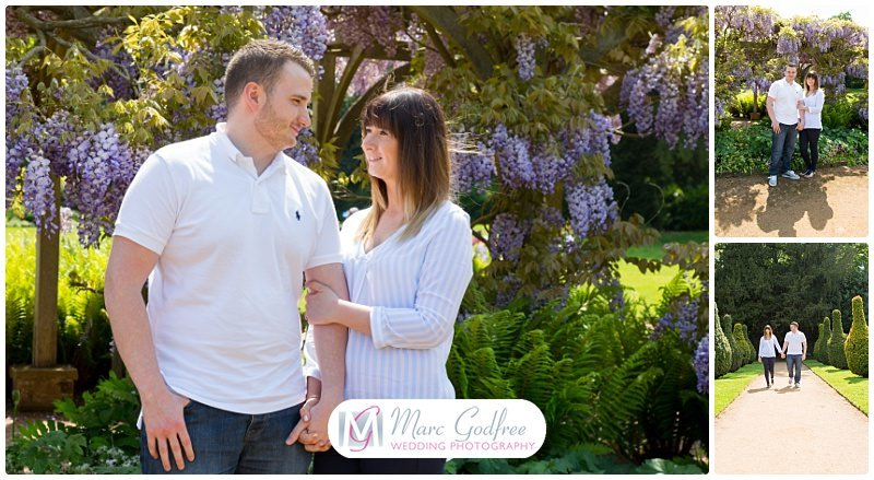 Amy & Sean's Chelmsford Hylands Park Engagement Session-4