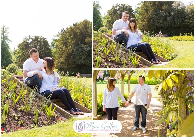 Amy & Sean's Chelmsford Hylands Park Engagement Session-5