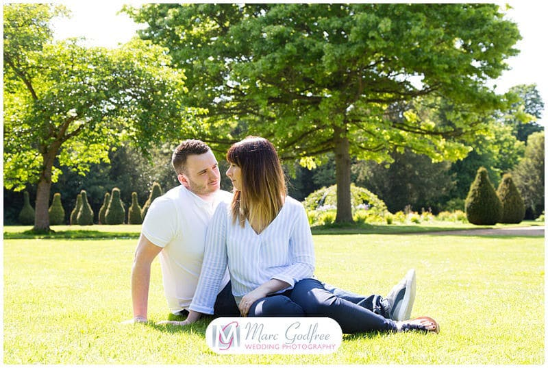 Amy & Sean's Chelmsford Hylands Park Engagement Session-7