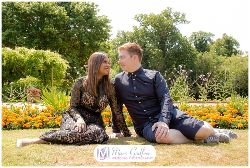 Hylands Park pre-wedding session with Asha & Dan-3