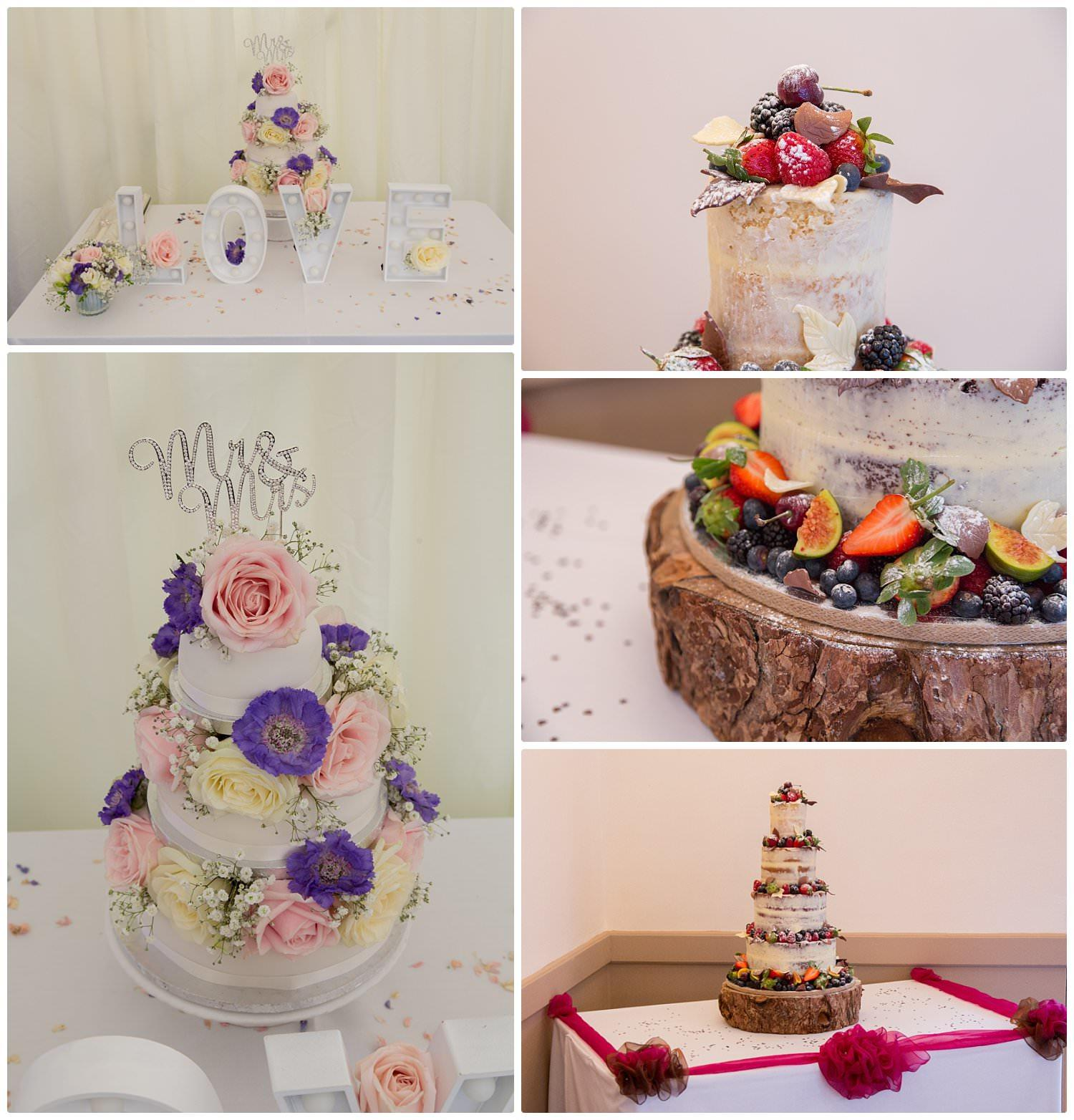 Top tips for choosing your wedding cake-Decor