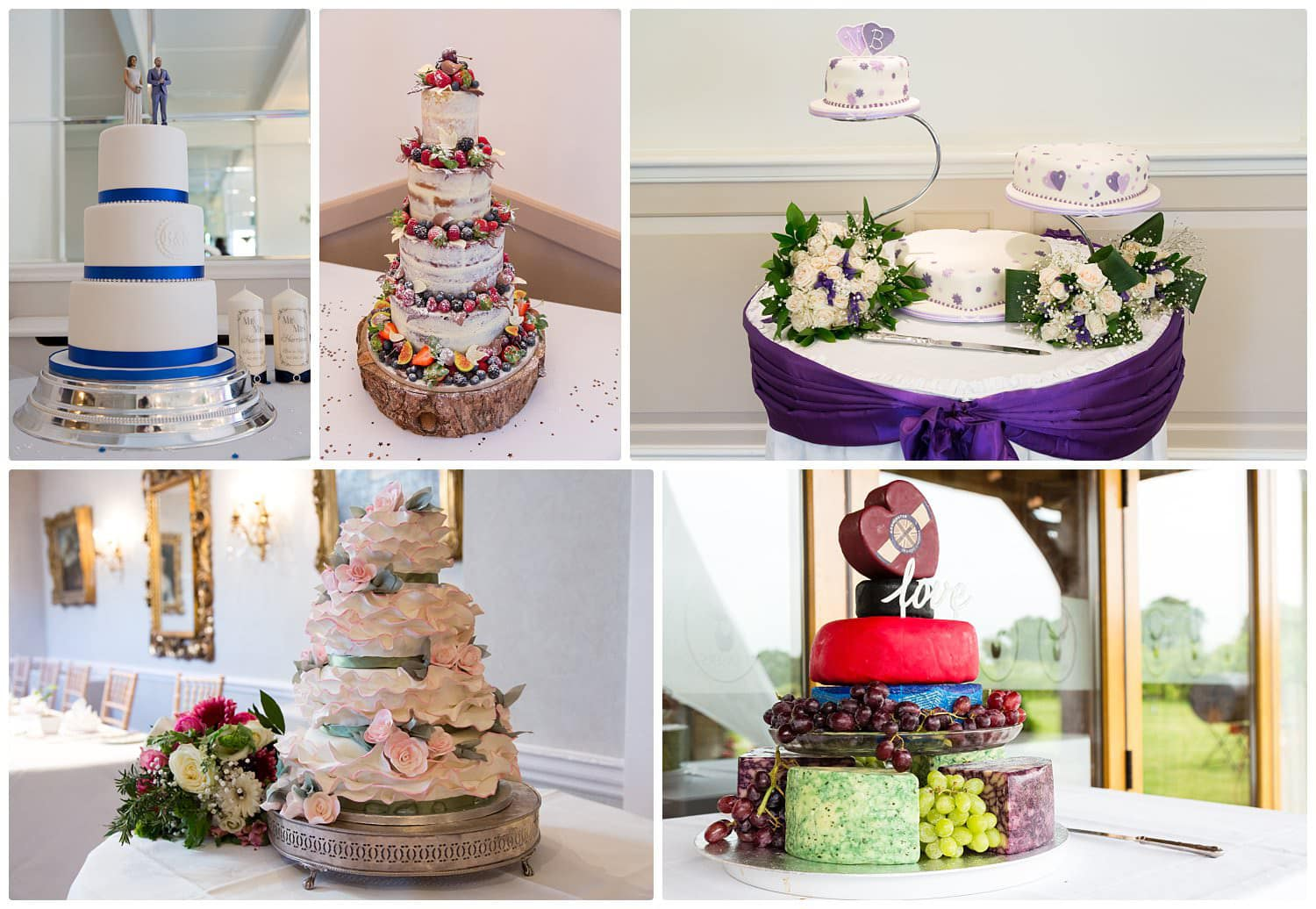 Top tips for choosing your wedding cake-Style