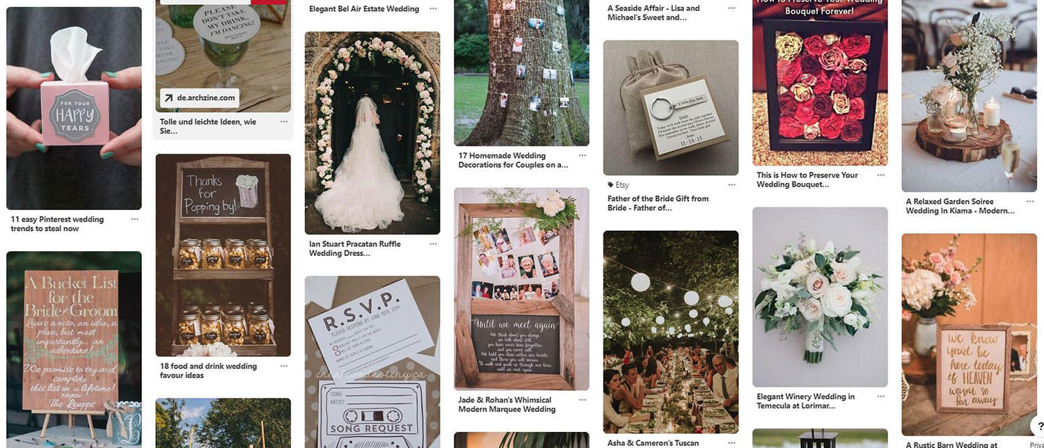 Wedding Planning Apps To Use During The Digital Age Pinterest