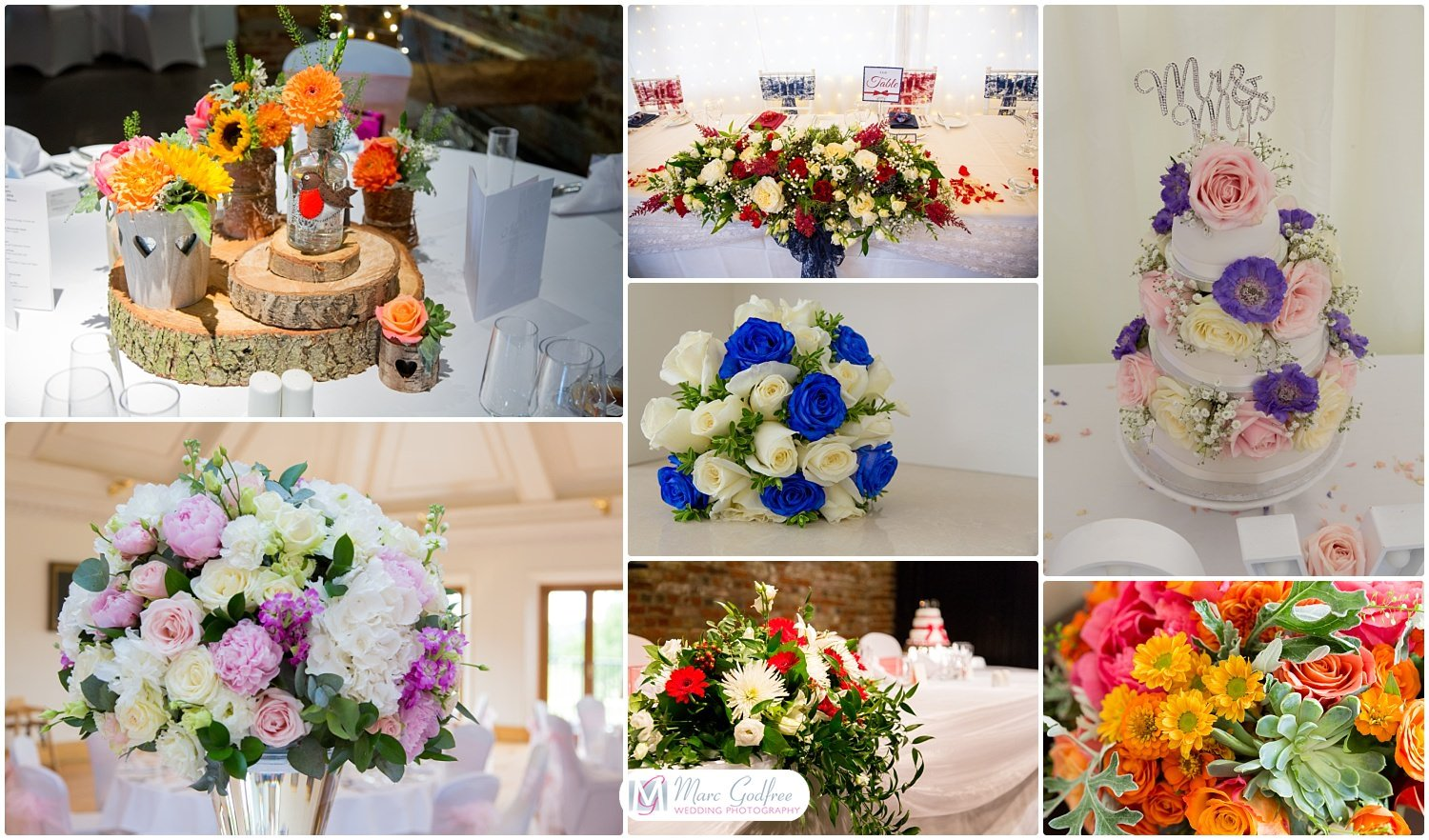How to choose a wedding theme - Look to colours