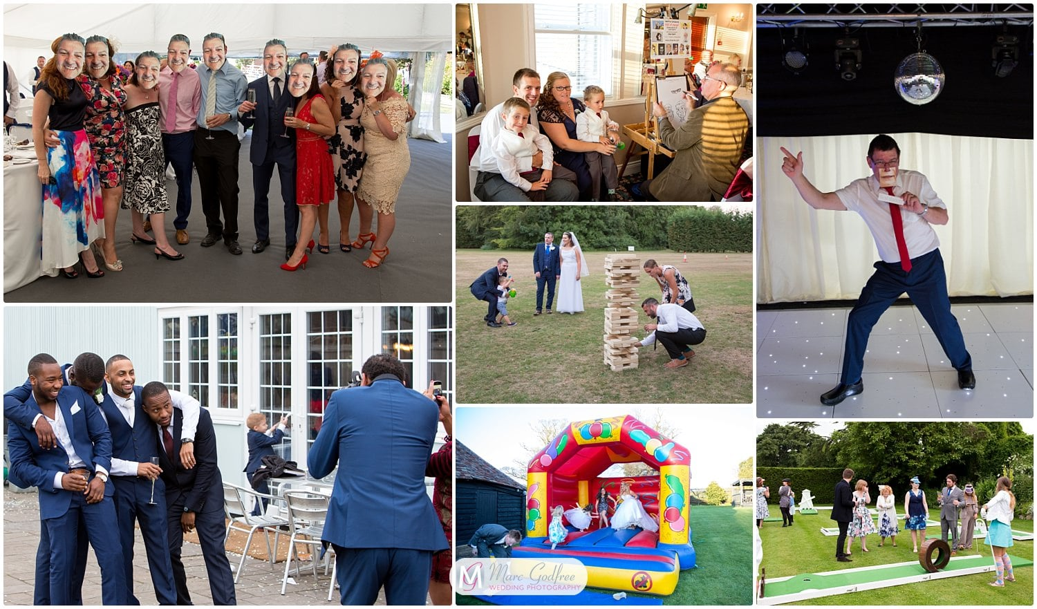 wedding photos you probably didn't consider-guests having fun