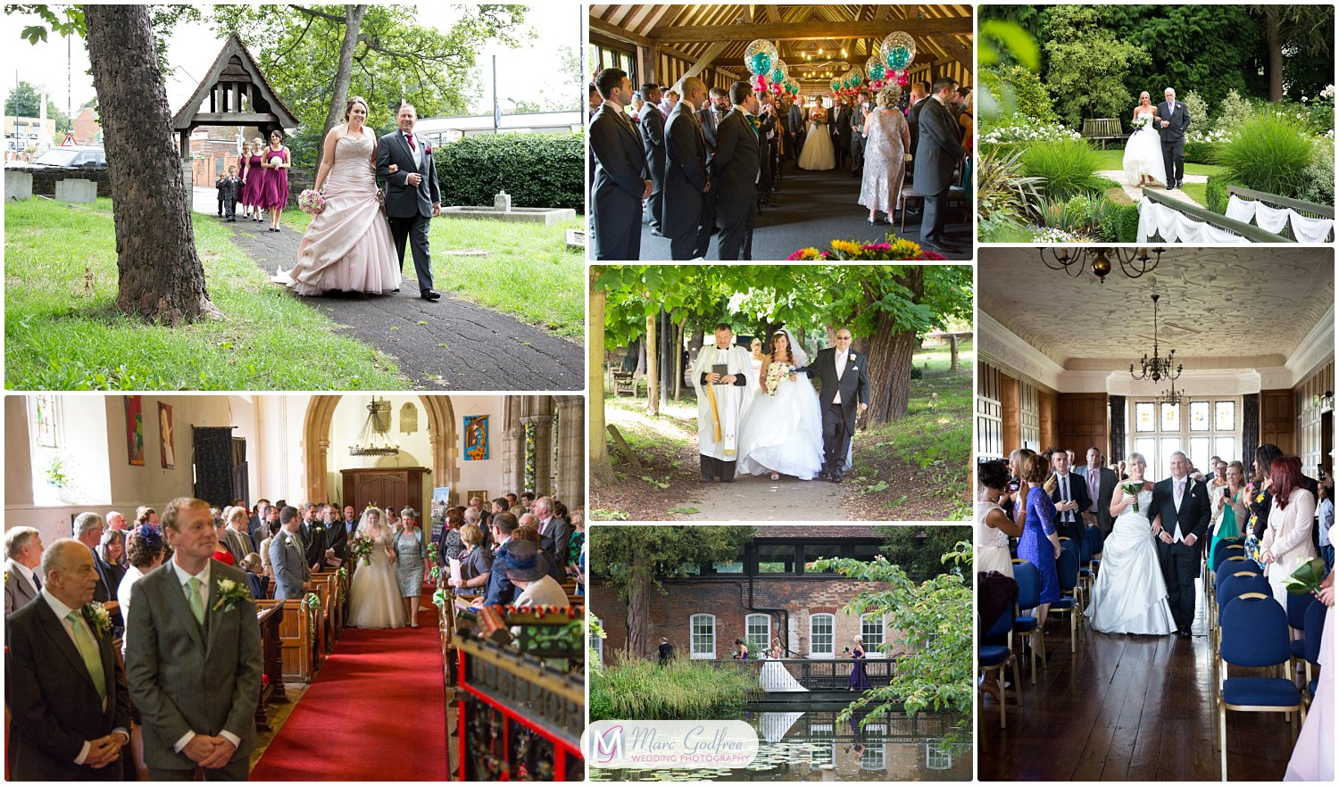 wedding photos you probably didn't consider-walk to the ceremony