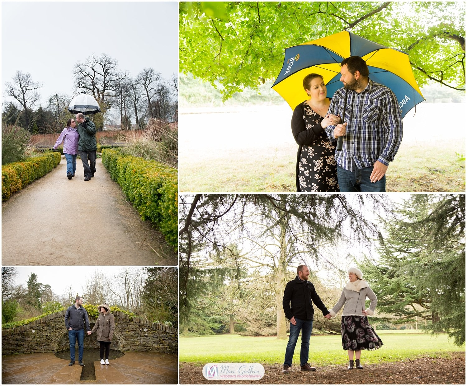 Bring a brolly on your engagement shoot