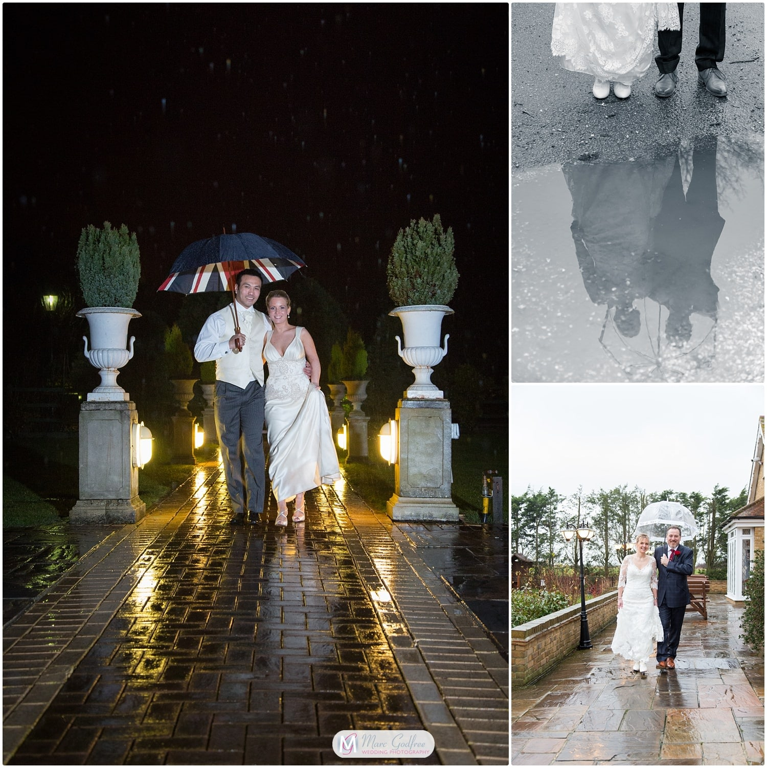 Embrace the weather on your engagement shoot